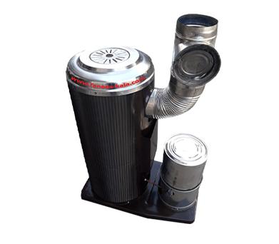 بخاری نفتی-گازوئیلی عایق دار(سایز ۱متری)
