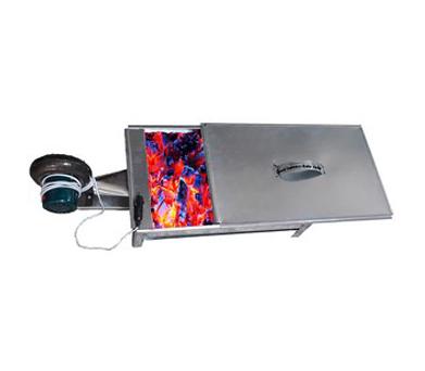 کباب پز درب دار با فن برقی