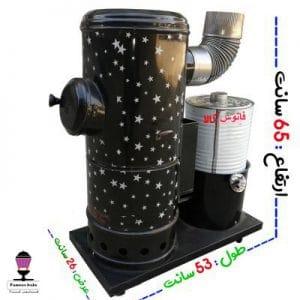بخاری گازوئیلی-نفتی کوره چدنی 65