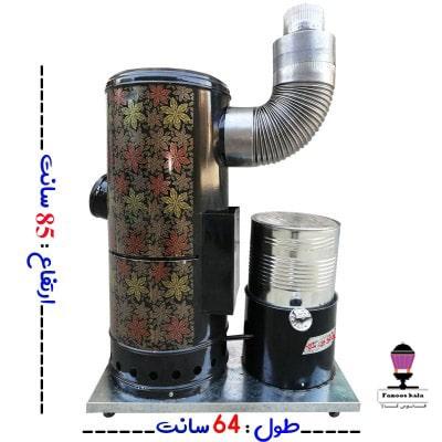 بخاری گازوئیلی-نفتی کوره چدنی 85