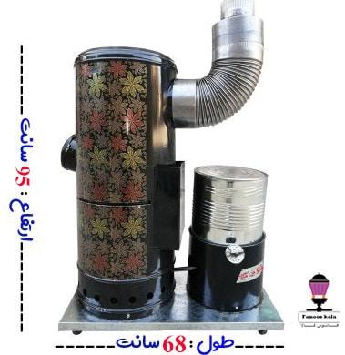 بخاری گازوئیلی-نفتی کوره چدنی 95
